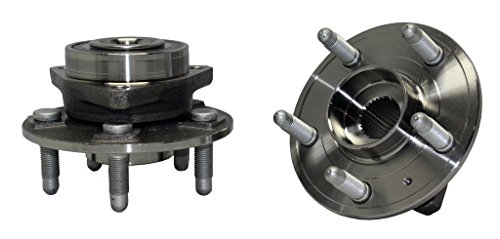 Pair Complete Front Wheel Bearing & Hub Assembly - 2010-2016 Chevy Camaro LT, LS, SS Only - [2008-2016 Cadillac CTS Not for V Models] ()