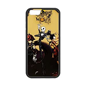 iPhone 6 Plus 5.5 Inch Cell Phone Case Black Kingdom Hearts Halloween Town ZEY
