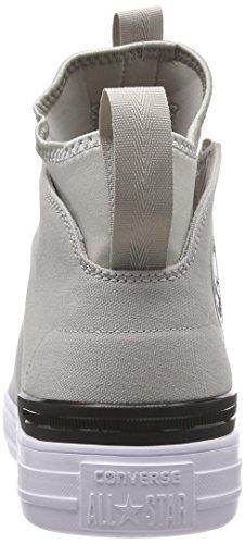 Pale Black Pale Zapatillas Grey CTAS Beige White Mid 081 Altas White Converse Unisex Ultra Grey Black Adulto twRnX