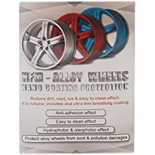Nano NFM Metal Protector Wheel Rims Anti Adhesion Protective Layer [Water Oil Mud Dust Repellant] Great for Stainless Steel, Aluminum, Silver – Anti Rust Protection for car, Motorcycles, Bikes - 30ml