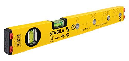 Stabila Messgeräte 16135 Wasserwaage 70 Electric / 43 cm