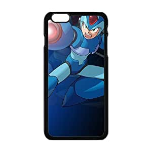 Blue cool Rockman Cell Phone Case for Iphone 6 Plus