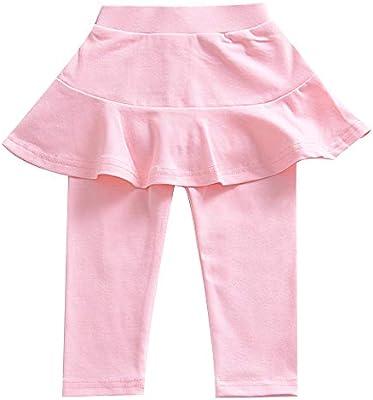 1-8 años bebé niña caliente pantalones con falda tutu culottes ...