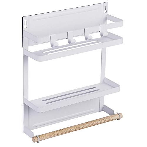 Jannyshop Kitchen Rack Magnetic Refrigerator Storage Organize by Jannyshop (Image #1)