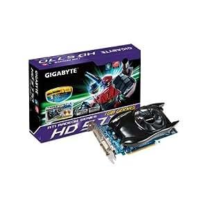 GIGABYTE ATI Radeon HD5770 1 GB DDR5 2DVI/HDMI/DisplayPort PCI-Express Video Card GV-R577UD-1GD - Retail