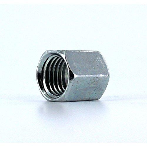 Parker M20SCFX Metric Tube Nut EO Bite Type 20 mm OD Tube Steel