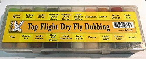 Hareline Spirit River Top Flight Dry Fly Dubbing Dispencer