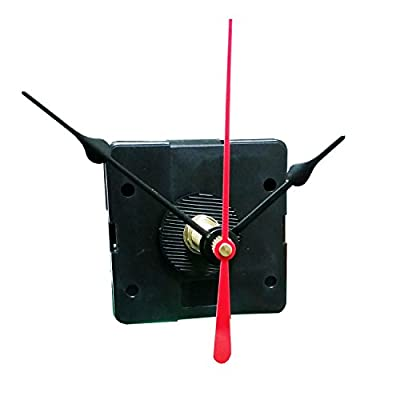 "Quartex® Q-80 Quartz Clock Movement, 3/4"" Maximum Dial Thickness, 1-3/16"" Hand Shaft Length"