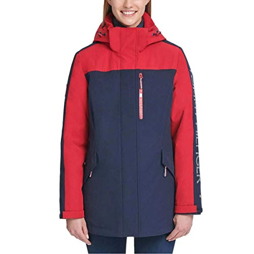 Tommy Hilfiger Womens Winter Cold Weather Basic Coat