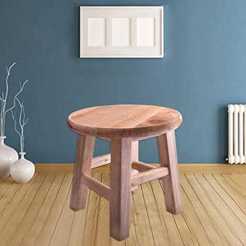 Kruk Massief Hout Huis Woonkamer Eenvoudige Moderne Kleine Hoogte 25 Cm Zhaoshunli