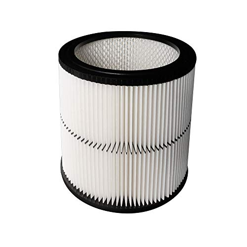 17884 Vacuun Cartridge Filter fit for Craftsman 9-17884 17935 17937 17920 Shop Vac Filter Replacement Part Fit 6 Gallon & Large Vacs