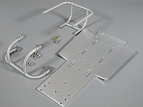 Aluminum Front & Rear Bumper Guard + Chassis Plate Tamiya 1/10 Sand Scorcher