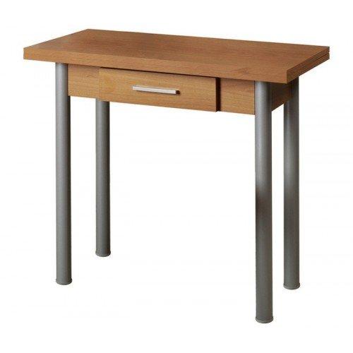 Mesa de cocina modelo libro - Blanco: Amazon.es: Hogar