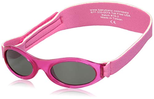 BANZ: Ultimate BANZ Polarized - Baby: Flamingo Pink Kids Sunglasses | Age: 0-2 Yrs.
