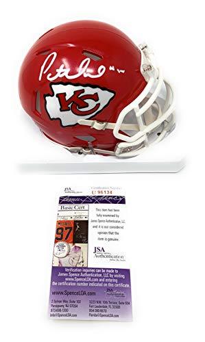 (Patrick Mahomes Kansas City Chiefs Signed Autograph Speed Mini Helmet #15 Added JSA Certified)