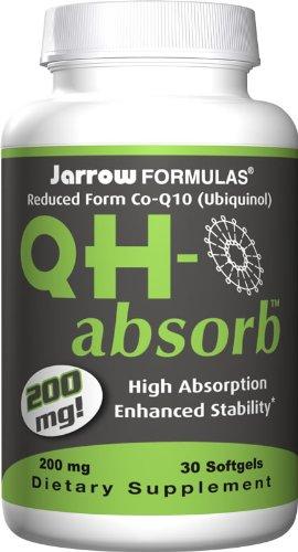 Jarrow Formulas - QH-Absorb Co-Q10 200 mg 30 softgels