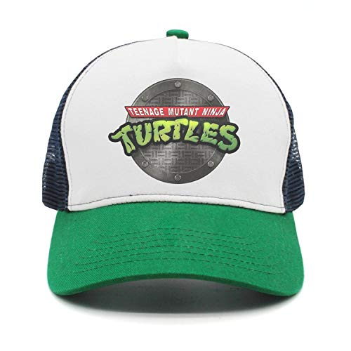 Adjustable papa Hat Teenage-Mutant-Ninja-Turtles-TMNT-Manhole-Cover- Mesh Baseball Cap for Men