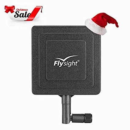 Flysight FPV Antenna FPV Transmitter and Receiver RC5 8GHz Micro  Directional Panel Antenna PA511 RP-SMA Plug (with Hole)