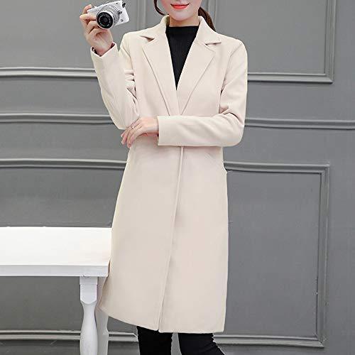 Vêtements Cardigan Manteau Zodof Hiver Casual Womens Jacket Automne Beige Parka Slim wa1Y8f