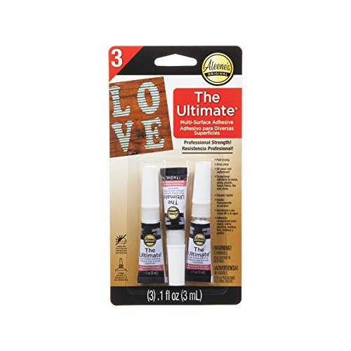 Aleene's 33411 Ultimate Multi-Surface Adhesive (Pack of 3)