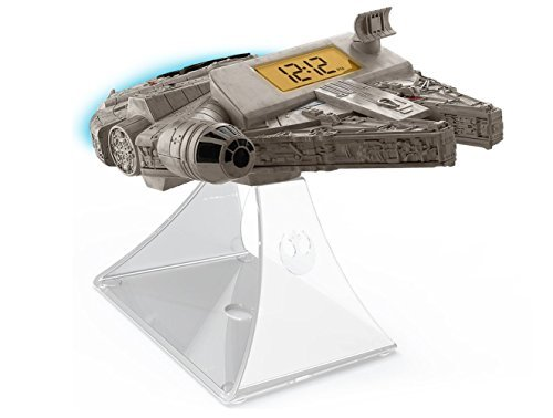 092298924809 - Star Wars-The Force Awakens Millennium Falcon Night Glow Alarm Clock carousel main 6