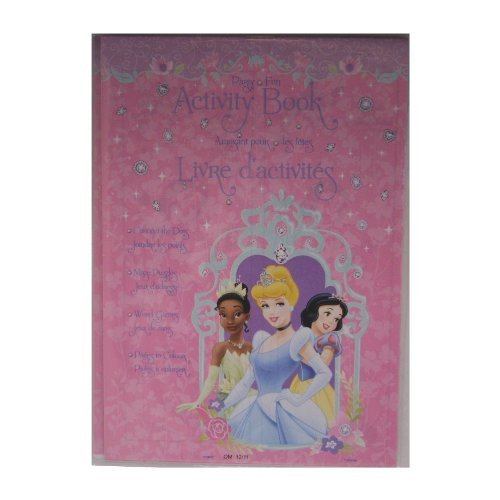 Disneys Princess Activity Book 4 Pack Party Favors