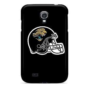 JacquieWasylnuk Samsung Galaxy S4 Perfect Hard Cell-phone Case Custom Realistic Jacksonville Jaguars 3 Pattern [IBE9560VrVV]