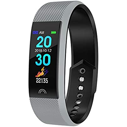 WITTMANN Waterproof IP68 Fitness Wristband with Heart Rate Monitor 0 96 Inch Color Screen Smartwatch Activity Tracker Heart Rate Monitor Pedometer Watch Smart Watch Fitness Watch Estimated Price £38.15 -