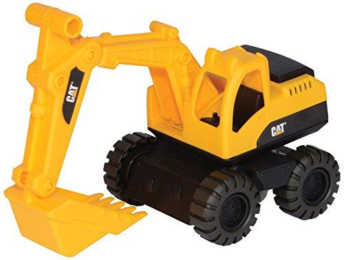 Caterpillar CAT 9928 Mini Worker Excavator Vehicle Toy (Caterpillar Wheel Excavator)