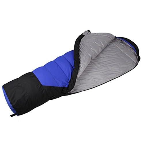 SHUIDAI Outdoor épaissir vers le bas de sacs de couchage/ultra chaud/lumière , blue