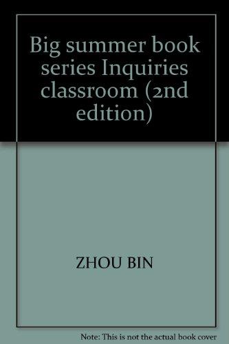Big summer book series Inquiries classroom (2nd edition)