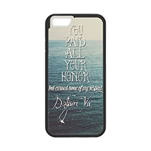 iPhone 6 Plus 5.5 Inch Cell Phone Case Black You Paid All Your Honor JNR2097053
