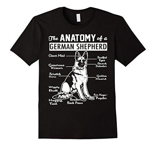 The Anatomy Of A German Shepherd Shirt