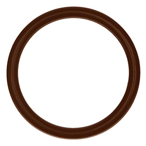 222 Viton O-Ring, 75A Durometer, Brown (Pack of 25) ()