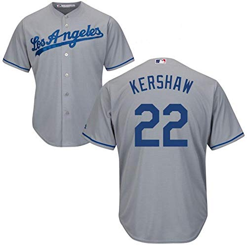 2a971669b Clayton Kershaw Los Angeles Dodgers MLB Majestic Youth Gray Road Cool Base  Replica Jersey (Youth