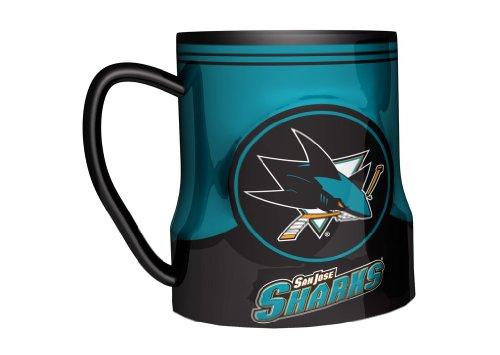 (Boelter Brands - San Jose Sharks Coffee Mug - 18oz Game Time)