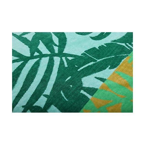 jilda-tex Telo mare 90 x 180 cm, asciugamano da spiaggia, asciugamano 100% cotone biologico, velour, spugna, GOTS… 3 spesavip