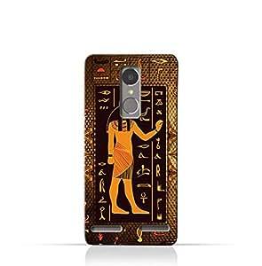 Lenovo K6 TPU Silicone Case with Egyptian Hieroglyphs Pattern