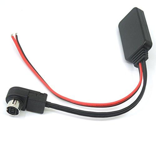 Bluetooth Module Aux Cable Input Adapter MP3 for Alpine KCA-121B AI-Net CD CDA9857 CDA9886 CDA9807 CDA9805 CDA7893 IVA-D900