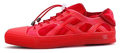 Scarpa Casual Da Donna Adadila Fashion Sneaker Casual Con Soletta Interna Rimovibile E Imbottita In Schiuma 2 In 1 Rosso Solido