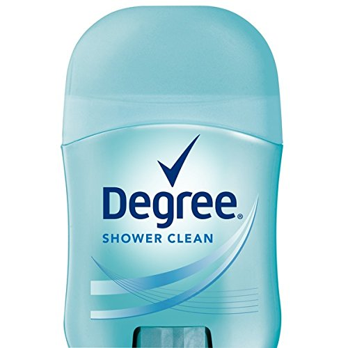 Degree Shower Clean Dry Protection Antiperspirant Deodorant Stick, 0.5 oz (Pack of 18)