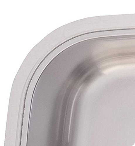 Franke UOSK900-18 Offset Double Bowl Stainless Steel 32x18.5in. Undermount Sink
