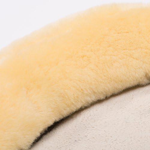 in Natur CHRIST Lammfell Sattelsitzbezug Laramie mit Hornloch Sattelbezug f/ür Westerns/ättel Sitzbereich aus echtem Fell f/ür eine angenehme Polsterung schwarz braun grau Gr: Warmblut und XL