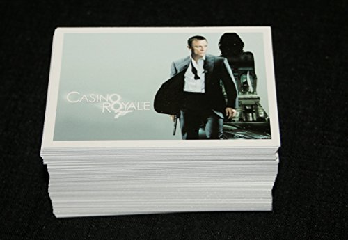 2014 James Bond Archives Casino Royale Base Card Set 1-99