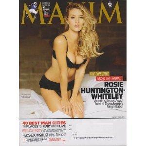 Maxim Magazine July 2011   Rosie Huntington Whiteley   163