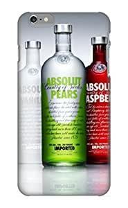 BrCqnK-4151-cbdpE Special Design Back Absolut Vodka Phone Case Cover For Iphone 6 Plus
