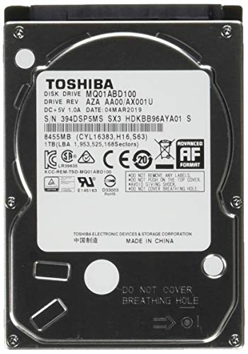 Toshiba MQ01ABD 1 TB 2.5
