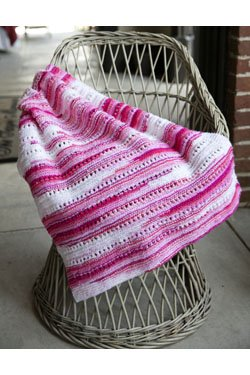 Toybox Candy Baby Blanket Knit Kit – So Soft! – Candy Pink