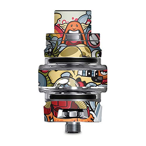 IT'S A SKIN Decal Vinyl Wrap for Smok TFV8 Big