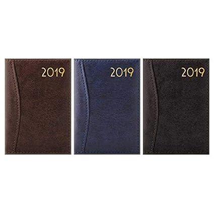 Agenda de bolsillo 2019 A7 día a página, cubierta flexible ...